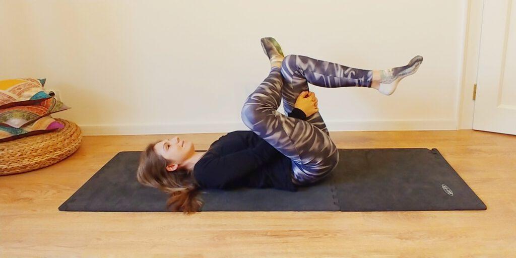 ćwiczenie rozciągające itbs