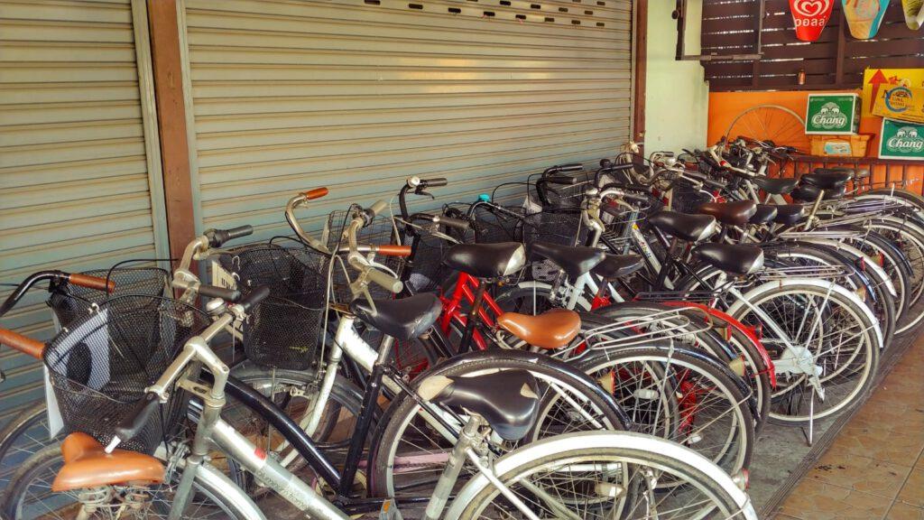 Bang Krachao wypożyczalnia rowerów