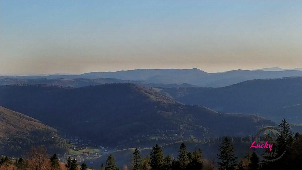panorama górska z Błatniej