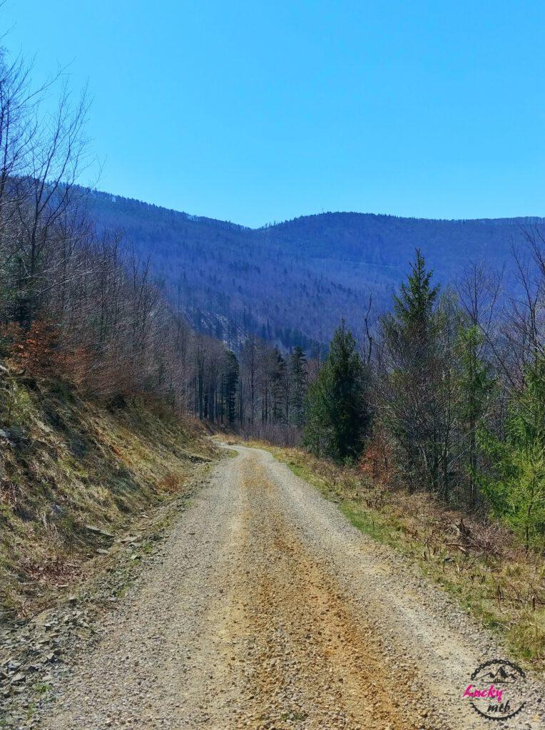 szeroka droga w górach