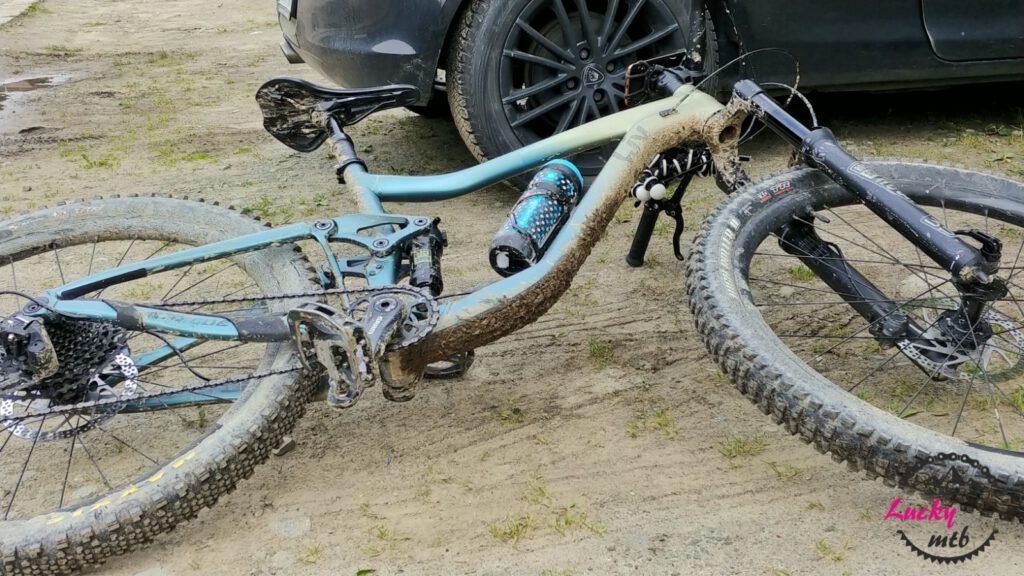 brudny rower