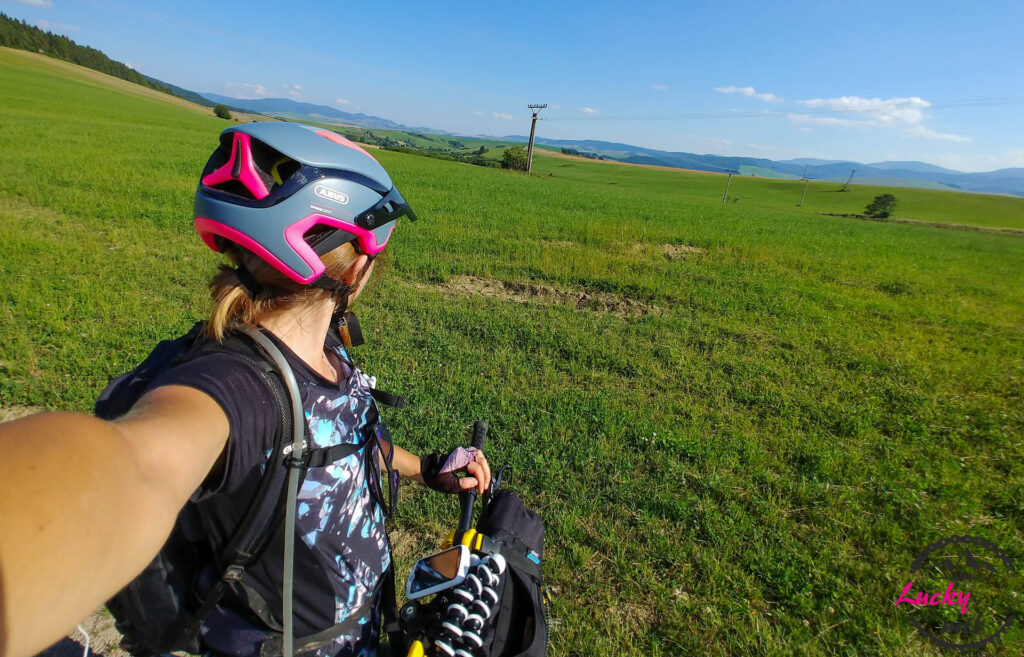 bikepacking Magura Spiska