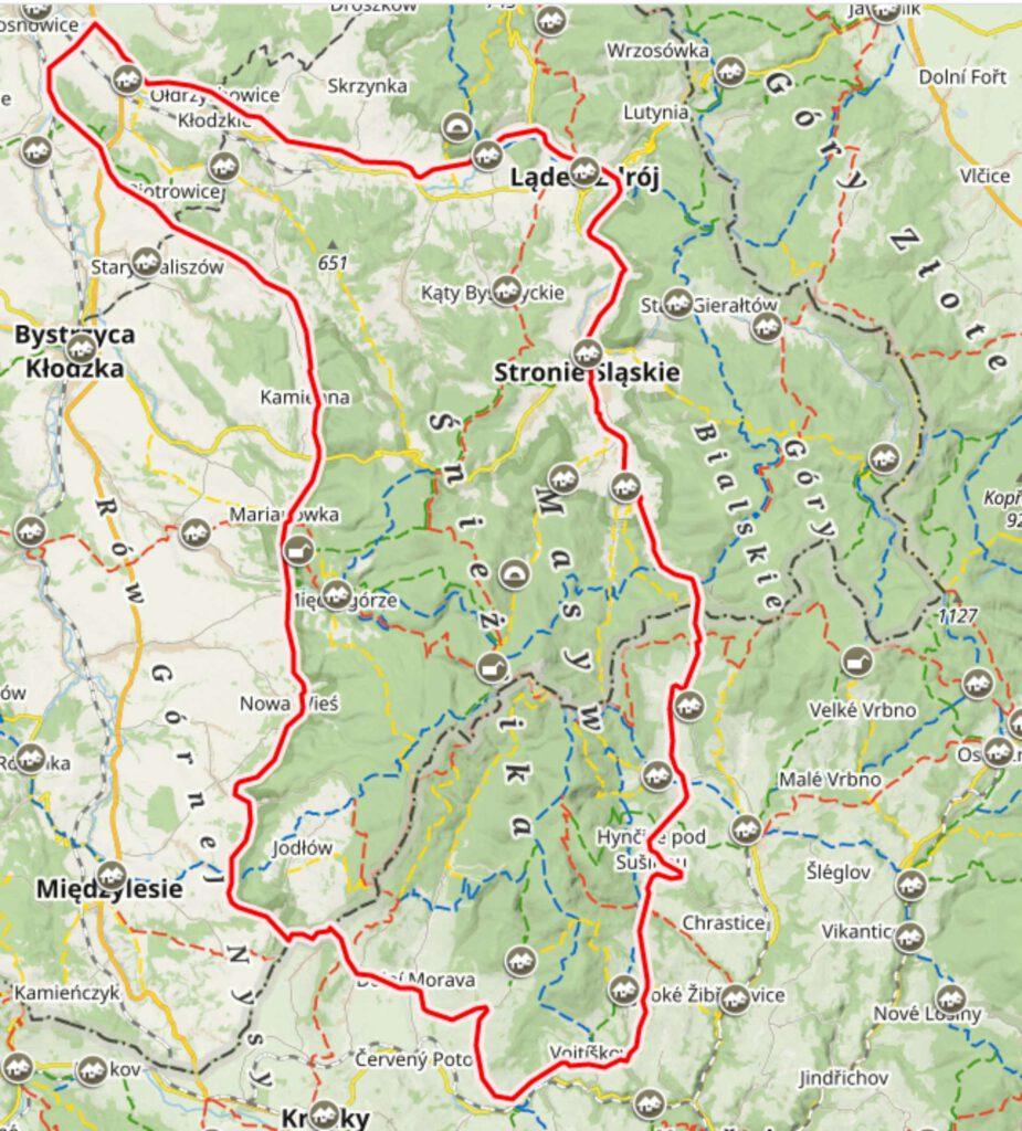 masyw mapa